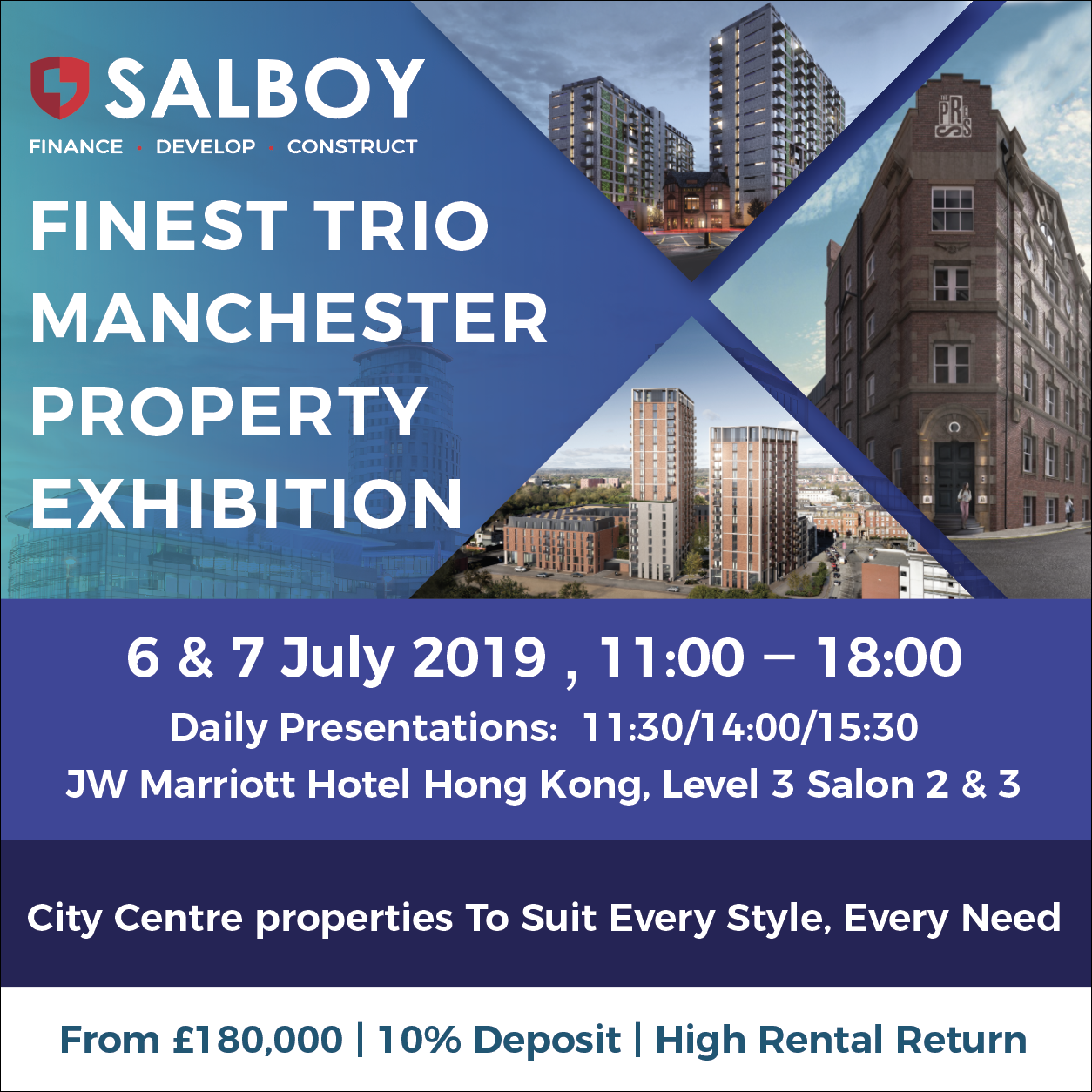 [Developer July Exclusive] Salboy Property Exhibition, HONG KONG