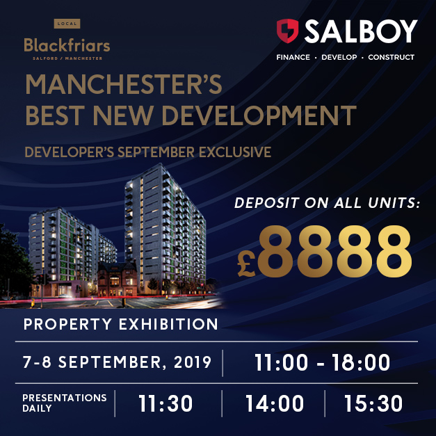 [Voted Manchester's Best New Development] Salboy Property Exhibition, HONG KONG