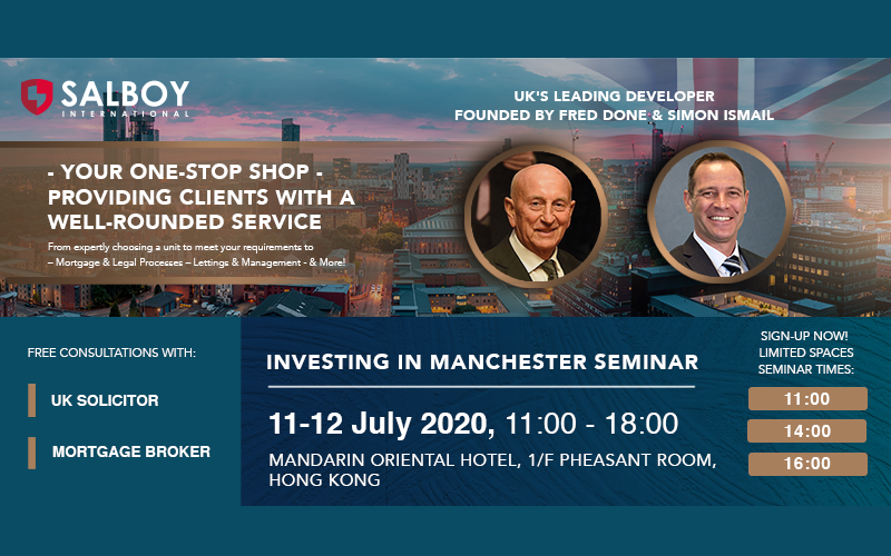 [LIMITED SPACES - RSVP NOW] Investing in Manchester & Lettings Seminar